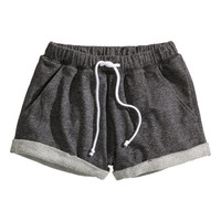 Sweatshirt shorts - from H&M