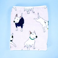 Knee Blanket -- English Bull Terrier
