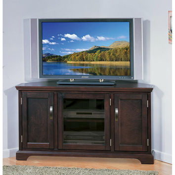 Chocolate Bronze 46-inch Corner TV Stand & Media Console | Overstock.com Shopping - The Best Deals on Entertainment Centers