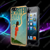 Spirited Away Retro Poster Case For iPhone 5, 5S, 5C, 4, 4S and Samsung Galaxy S3, S4