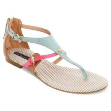 TOMMY HILFIGER FLAT THONG SANDALS