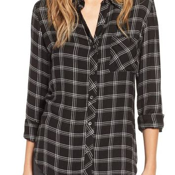 Rip Curl 'Nightline' Plaid Flannel Shirt | Nordstrom