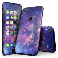 Colorful Nebula - 4-Piece Skin Kit for the iPhone 7 or 7 Plus