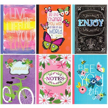 Bulk Hardback Fashion Journals, 5x7 in. at DollarTree.com