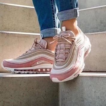 VOND4H Nike Air Max 97 OG Retro Pink Running Shoes 312834-200