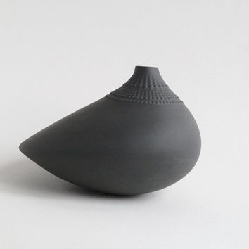Grey Pollo Vase - Limited Edition - Wirkkala for Rosenthal