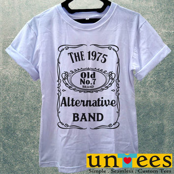 Low Price Women's Adult T-Shirt - The 1975 Alternative Rock Band design