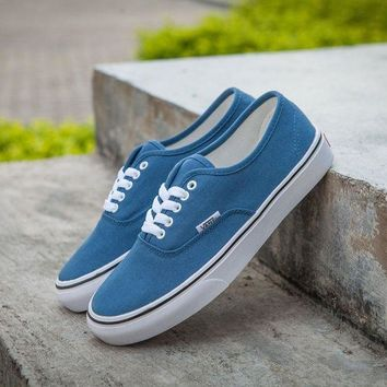 DCC3W Vans Authentic Blue Sneakers Casual Shoes