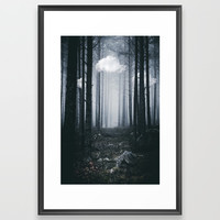 The ones that got away Framed Art Print by happymelvin