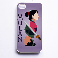 Mulan And Li Shang Figure Phone Cases For iPhone, Samsung, Sony iPod
