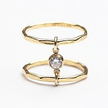 Amarilo Jewelry Womens Asami Spinal Ring