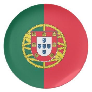 Portugal Flag Plate