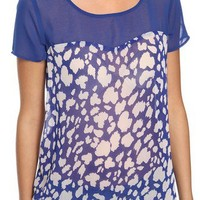 Abstract Sweetheart Top | FOREVER 21 - 2000034675