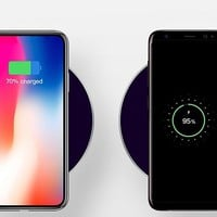 Wireless Fast Charger iPhone X,Apple Watch 2 in 1 Fast Wirless Charging Pad