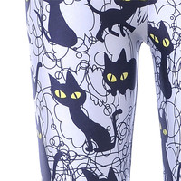 Black Cat Leggings