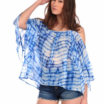 Veronica M Cold Shoulder Blouse