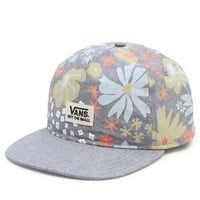 Vans Chambray Floral Snapback Hat - Mens Backpack - Blue - One