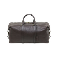 Clipper in Chocolate Natural Leather | Travel | Mulberry