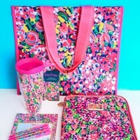 (EXCLUSIVE) Lilly Pulitzer Limited Edition Back to School Bundle-Wild Confetti