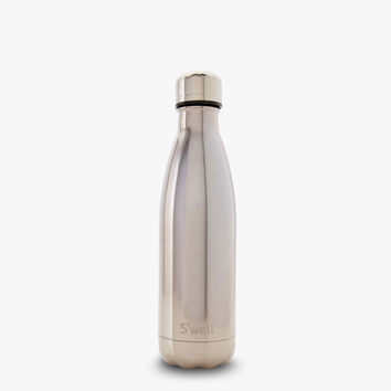 S'well® Official - S'well Bottle - S'well Bottle | Metallics Collection | White Gold
