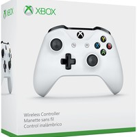 Xbox One White Controller with Bluetooth - Refurbished - Refurbished