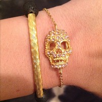 Skull & Lava Stone Set from La Fede Boutique