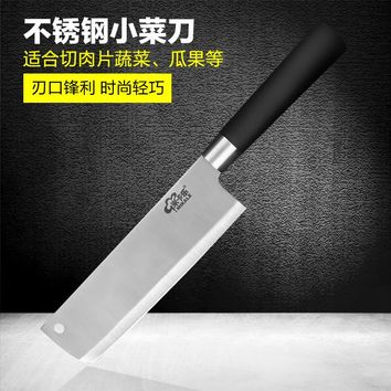 Free shipping stainless steel YAMY&CK Japanese style kitchen knife chef slicing knife fruit vegetable knife Santoku knife
