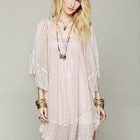 Free People Womens Gauzy Kaftan