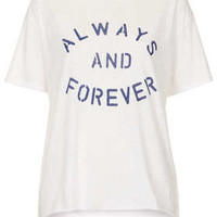 Always and Forever Tee - Jersey Tops  - Clothing