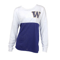 University of Washington Huskies Burnout Long Sleeve