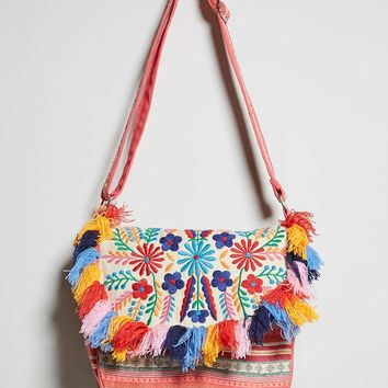 America & Beyond Crossbody Bag
