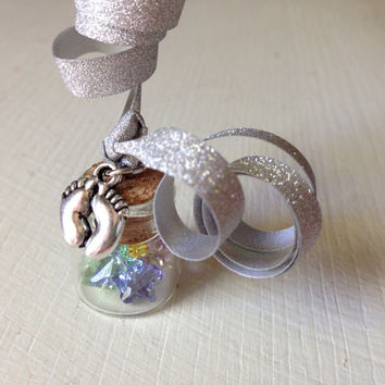 Baby Dust, Infertility, TTC, Fertility Treatments, IUI, IVF, Pregnancy, Swarovski Crystal, Stars