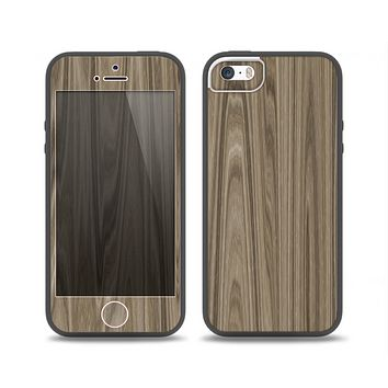 The Beige Woodgrain Skin Set for the iPhone 5-5s Skech Glow Case