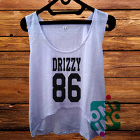 Drizzy 86 Crop Tank Women's Cropped Tank Top