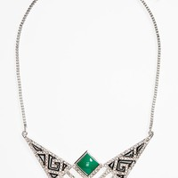 Women's Topshop 'Freedom Found' Necklace