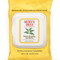 Facial Towelettes with White Tea Extract- Burts Bees