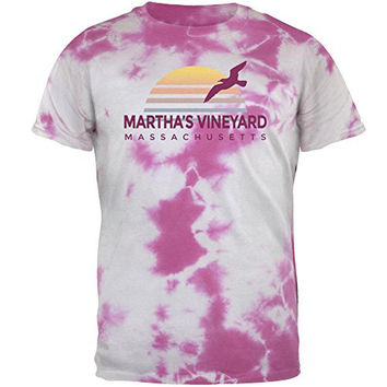 Beach Sun Martha's Vineyard Massachusetts Mens T Shirt