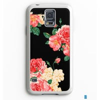 Large Carnations Floral Samsung Galaxy S7 Edge Case Aneend