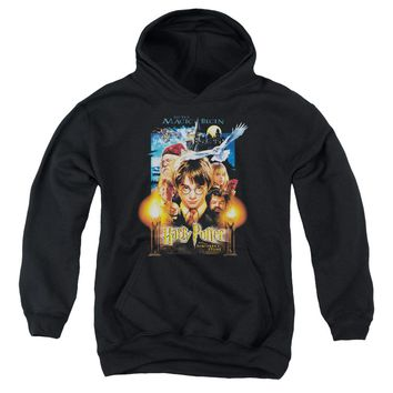 Harry Potter - Movie Poster Youth Pull Over Hoodie