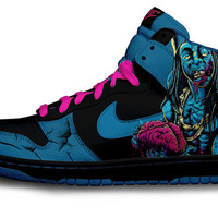 Lil Wayne Nike Dunk Parody by Customs4you on Etsy