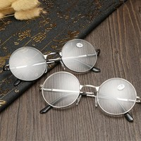 Round Spectacle Reading Glasses For Harry Potter Metal Frame Glasses Plain Mirror Presbyopia Male Female Reading Glass