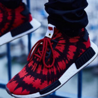 """Adidas"" NMD Trending Fashion Casual Sports Sneakers Shoes Red"