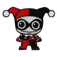 DC Comics Harley Quinn Chibi Iron-On Patch