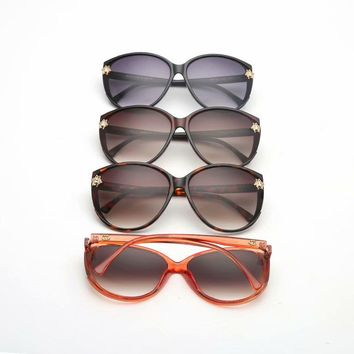 """Gucci"" Unisex Fashion All-match Small Bee Sunglasses Glasses Couple Accessories"