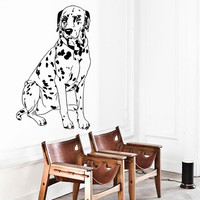Wall Decals Dalmatian Dog Puppy Pets Animals Home Vinyl Decal Sticker Kids Nursery Baby Room Decor kk551