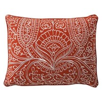 Mudhut™ Samovar Embellished Filigree Decorative Pillow - 14x18""