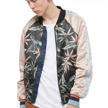 JACKY All Over Graphic Bomber Jacket