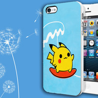 Cute Pokemon Pikachu - Casblue - Plastic and Rubber Case - iPhone and Samsung