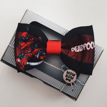 Deadpool bow tie