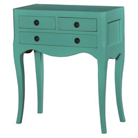 Chardonnay Side Table, Teal, Standard Side Tables